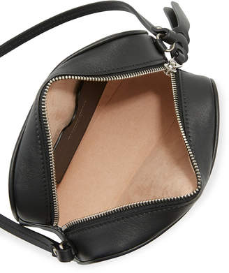 Alexander McQueen Small Embroidered Camera Bag, Black Pattern