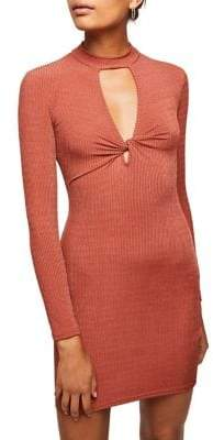 Miss Selfridge Rib Jersey Dress