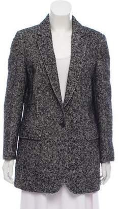 Rebecca Minkoff Notch-Lapel Tweed Blazer