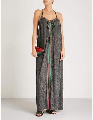 Pitusa Goddess cotton-blend maxi dress