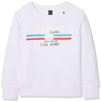 Replay Girl's Sg2083.050.29868 Sweatshirt,(Manufacturer Size: 10A)