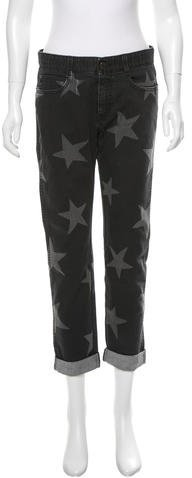 Stella McCartneyStella McCartney Star Print Boyfriend Jeans