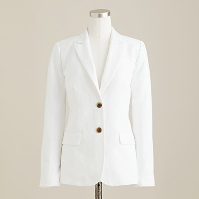 Summer jacket in crisp linen