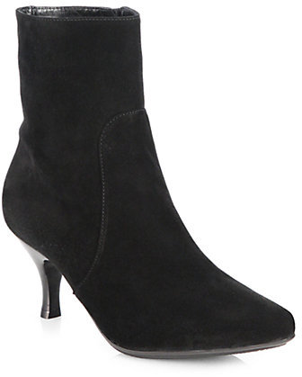 Aquatalia by Marvin K Mila Suede Ankle Boots