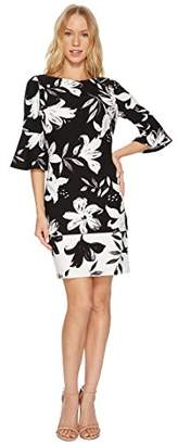 Vince Camuto Women's Flared Sleeve Bodycon Dress