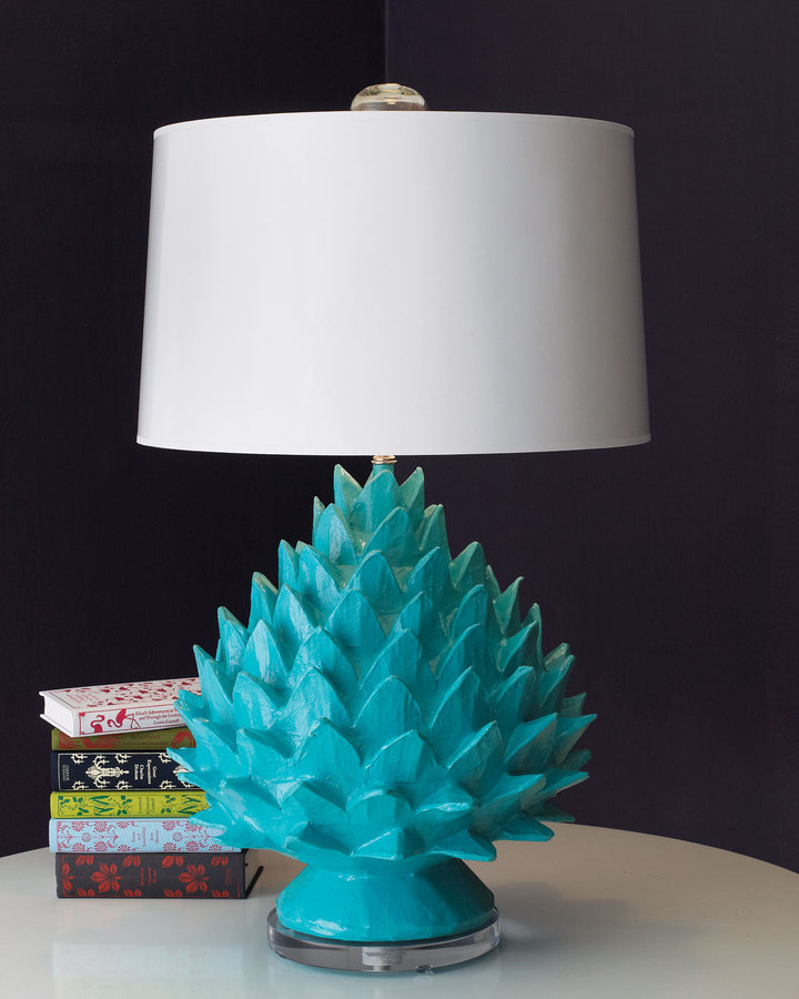 Horchow Artichoke Lamp