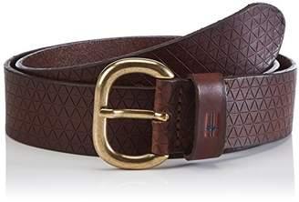 Napapijri Men's PAJE Belt, Brown (EBONY), (Manufacturer size: 0)