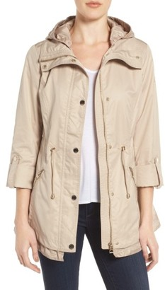 Women's Guess City Roll Sleeve Anorak $168 thestylecure.com
