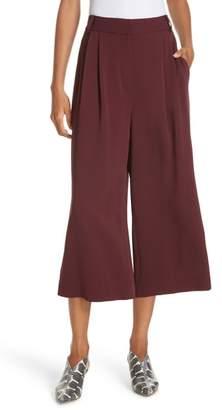 Tibi Stella Stretch Suiting Crop Pants