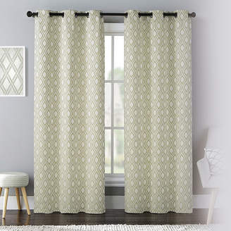 Mystique UNITED CURTAIN CO United Curtain Co. 2-Pack Rod-Pocket Curtain Panels