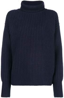 Joseph rib knit turtleneck sweater