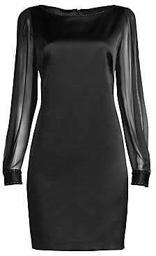 92571737ecb Elie Tahari Women s Jilly Satin Cocktail Dress