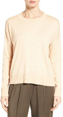 Women's Eileen Fisher Organic Cotton & Cashmere Sweater $178 thestylecure.com