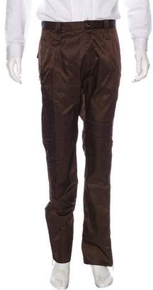 Versace Nylon Zip-Accented Pants w/ Tags