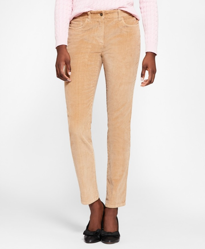 Brooks Brothers Stretch Cotton Corduroy Jeans