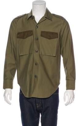 Rag & Bone Military Button-Up Shirt