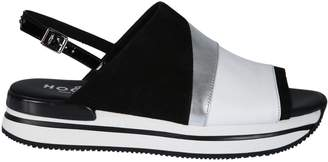 Hogan Buckle Sandals