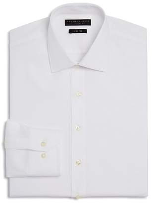 Bloomingdale's The Men's Store at Textured Solid Slim Fit Basic Dress Shirt - 100% Exclusive