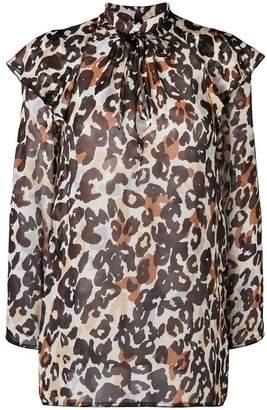Sonia Rykiel leopard print blouse