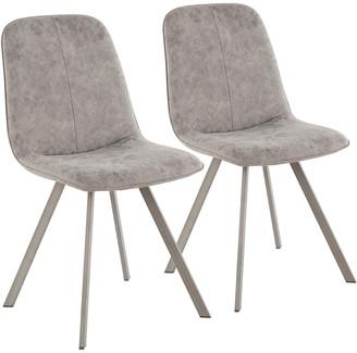 Lumisource Set Of 2 Sedona Dining Chairs