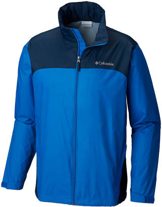 Columbia Men's Tall Glennaker Lake Colorblocked Rain Jacket
