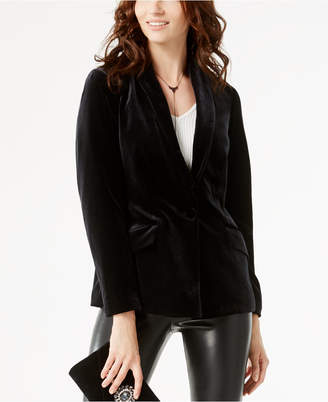 INC International Concepts I.n.c. Velvet Blazer