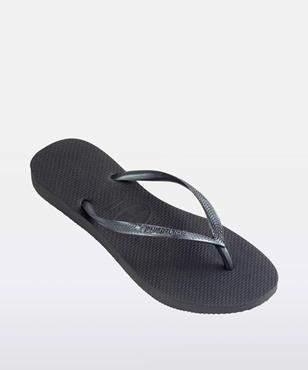 Havaianas Slim Metallic Thong Grey