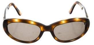 Bvlgari Logo Tinted Sunglasses