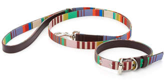 Ware of Dog Large Striped Webbing Leash
