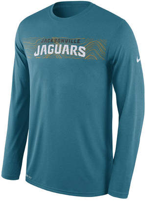 Nike Men's Jacksonville Jaguars Legend On-Fileld Seismic Long Sleeve T-Shirt