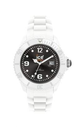 Ice Watch Ice Men's SIWKBS10 Ice-White Dial with White Bracelet Watch