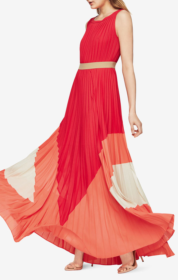 BCBGMAXAZRIACharlotte Color-Blocked Gown