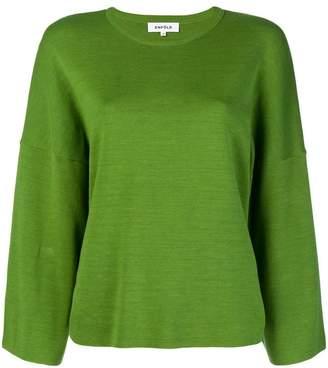 Enfold fine knit jumper