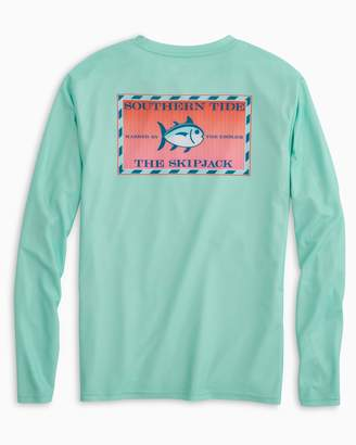 DAY Birger et Mikkelsen Southern Tide Original Skipjack Red Snapper Long Sleeve Performance T-shirt