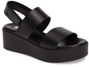 Women's Steve Madden Rachel Platform Wedge Sandal $89.95 thestylecure.com