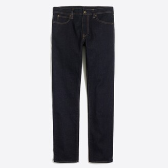 Mercantile Straight-fit selvedge jean in dark wash