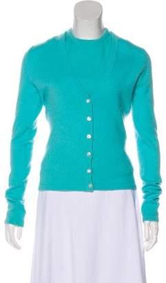 Michael Kors Cashmere Knit Cardigan Set
