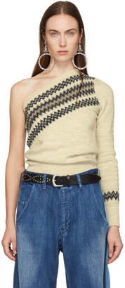 Isabel Marant White Dulcie Wild West Sweater