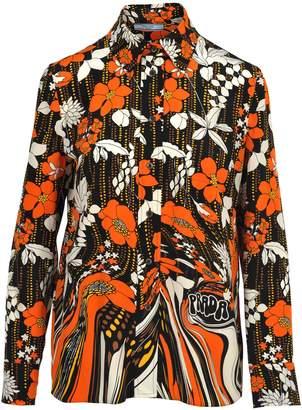 Prada Shirt Flower '70