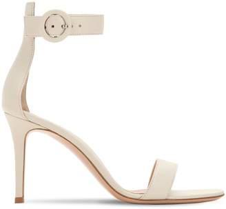 Gianvito Rossi 85mm Portofino Leather Sandals