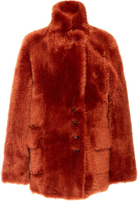 Joseph Lyne Reversible Teddy Coat