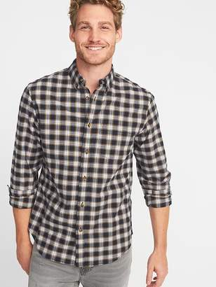 Old Navy Regular-Fit Built-In Flex Everyday Oxford Shirt for Men