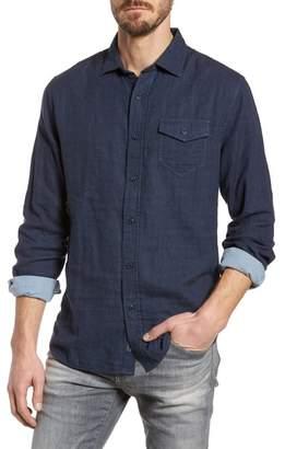 Grayers Hattox Slim Fit Solid Sport Shirt