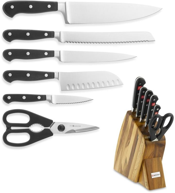 Wüsthof Classic Large Studio 7-Piece Knife Block Set