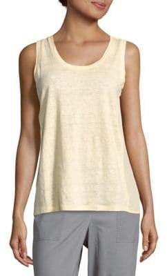 Sandro Solid Sleeveless Top