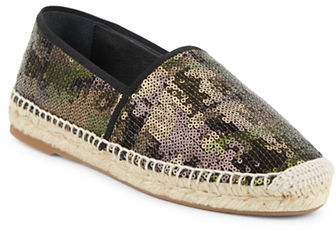 Marc Jacobs Marc Jacobs Sienna Sequined Espadrille Flats