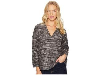 Lilla P Reversible Drop Shoulder V-Neck Women's Clothing