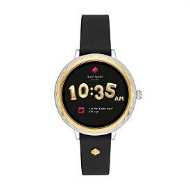 Kate Spade Scallop Black Smartwatch