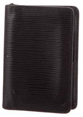 Louis Vuitton Epi Pocket Organizer