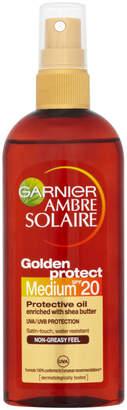 Ambre Solaire Garnier Golden Protect Sun Oil SPF 20 150ml